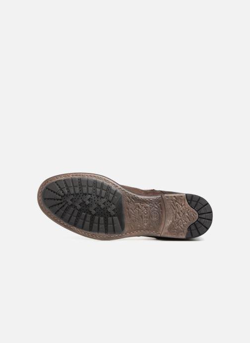 Stiefeletten & Boots Geox U JAYLON G U84Y7G braun ansicht von oben