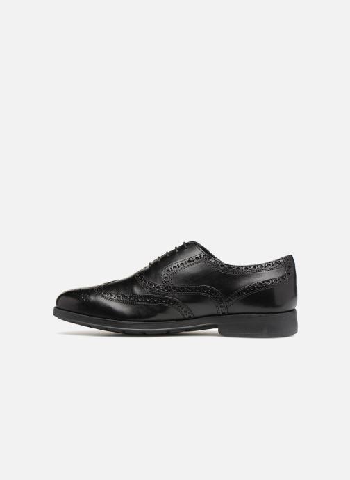Lace-up shoes Geox U HILSTONE B U824PB Black front view