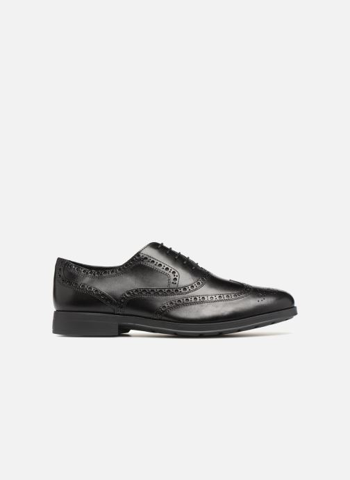 Lace-up shoes Geox U HILSTONE B U824PB Black back view