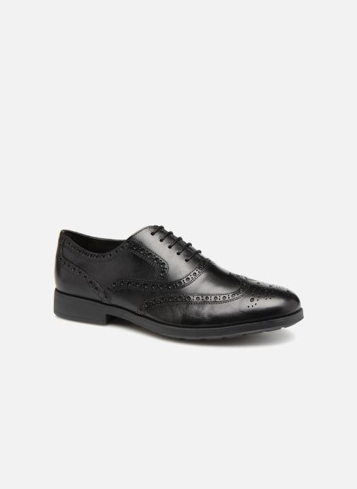 Lace-up shoes Geox U HILSTONE B U824PB Black detailed view/ Pair view