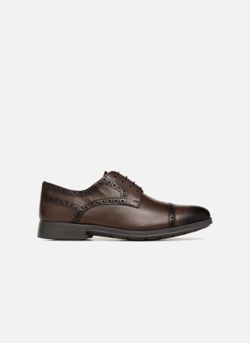 Lace-up shoes Geox U HILSTONE 2FIT A U824PA Brown back view
