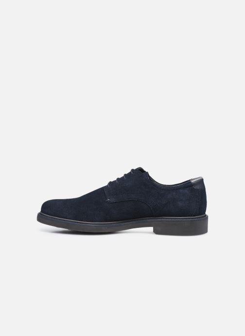 Zapatos con cordones Geox U SILMOR B U845SB Azul vista de frente