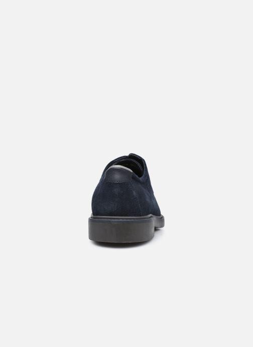Zapatos con cordones Geox U SILMOR B U845SB Azul vista lateral derecha