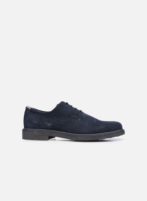 Zapatos con cordones Geox U SILMOR B U845SB Azul vistra trasera