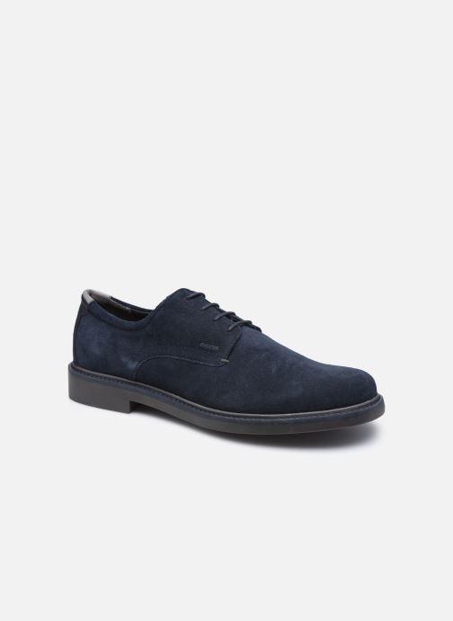 Zapatos con cordones Geox U SILMOR B U845SB Azul vista de detalle / par