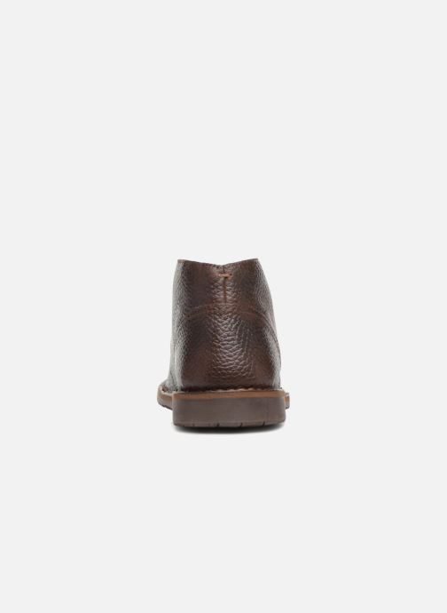 Ankle boots Geox U  ZAL A U84U5A Brown view from the right