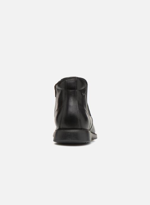 Bottines et boots Geox U BRAYDEN 2FIT ABX B U64N1B Noir vue droite