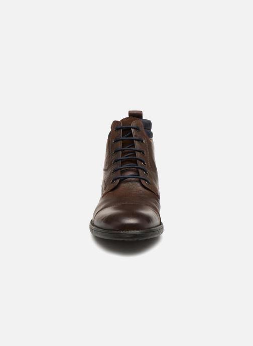 Stiefeletten & Boots Geox U JAYLON D U82Y7D braun schuhe getragen