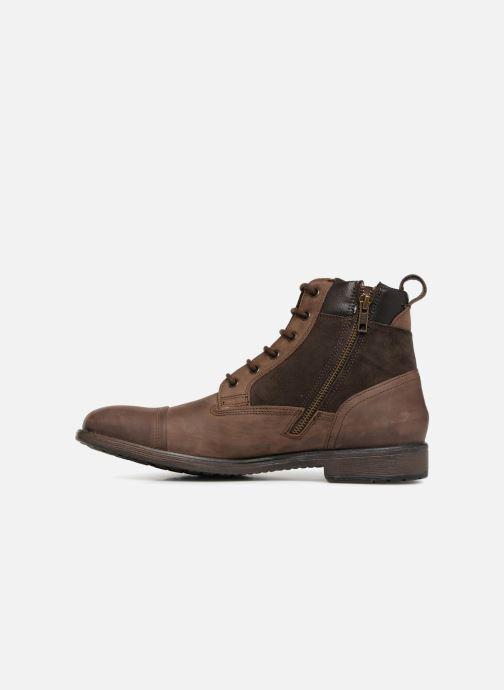 Ankle boots Geox U JAYLON E U84Y7E Brown front view