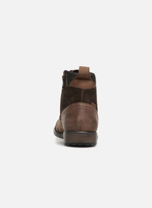 Ankle boots Geox U JAYLON E U84Y7E Brown view from the right