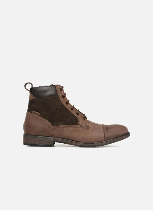 Ankle boots Geox U JAYLON E U84Y7E Brown back view