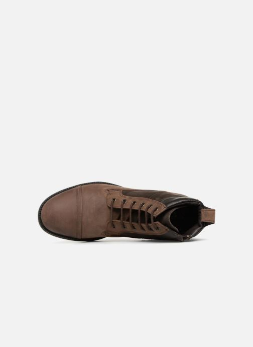 Ankle boots Geox U JAYLON E U84Y7E Brown view from the left