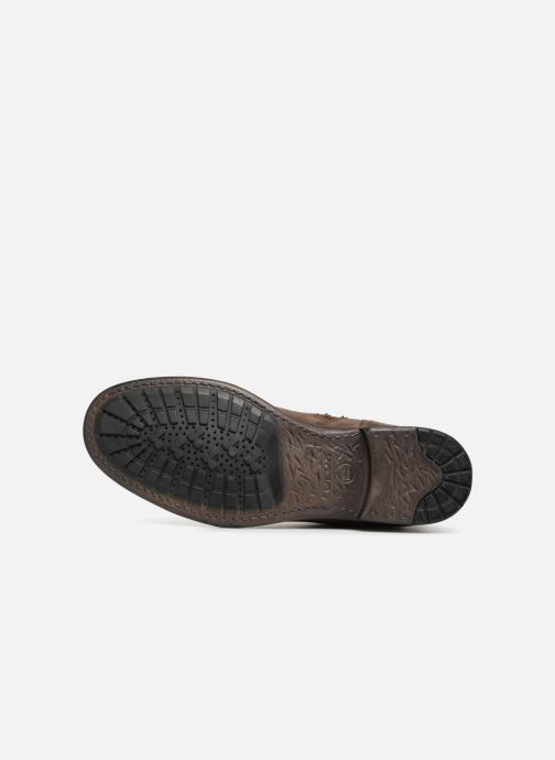 Ankle boots Geox U JAYLON E U84Y7E Brown view from above