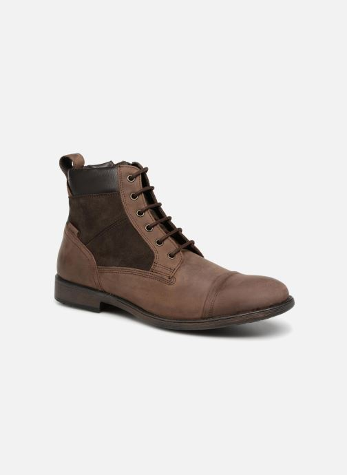 Ankle boots Geox U JAYLON E U84Y7E Brown detailed view/ Pair view