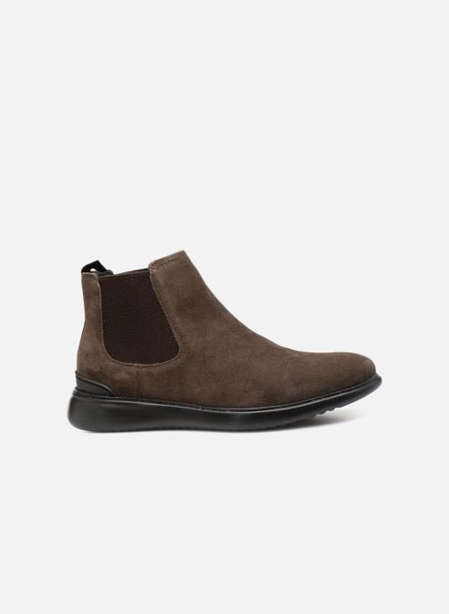 Ankle boots Geox U WINFRED C U844CC Brown back view