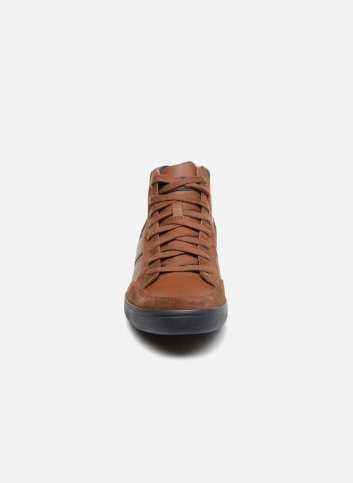 Sneaker Geox U BOX  E U84R3E braun schuhe getragen