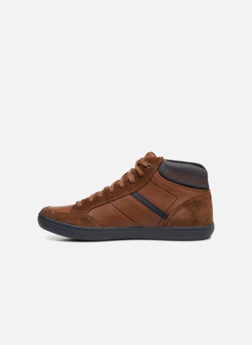 Sneaker Geox U BOX  E U84R3E braun ansicht von vorne