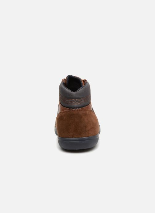 Sneaker Geox U BOX  E U84R3E braun ansicht von rechts