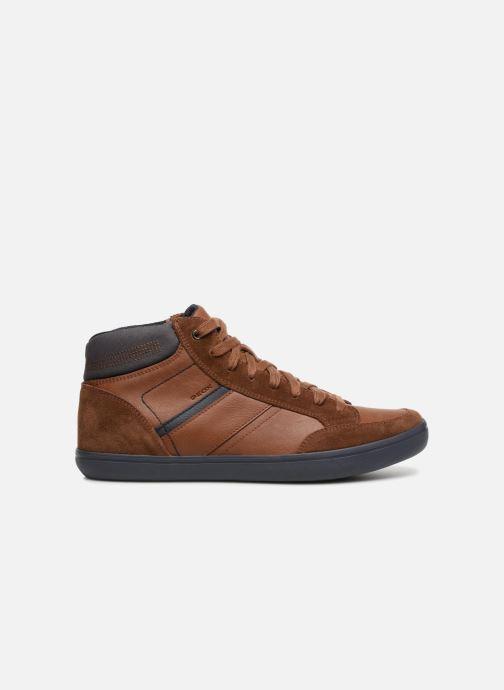 Sneaker Geox U BOX  E U84R3E braun ansicht von hinten