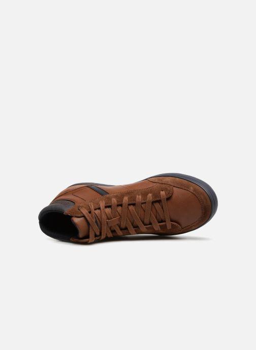 Sneaker Geox U BOX  E U84R3E braun ansicht von links