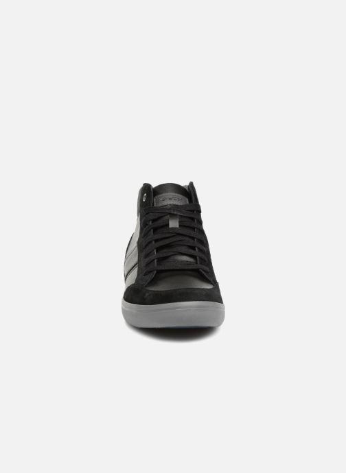 Baskets Geox U BOX E U84R3E Gris vue portées chaussures