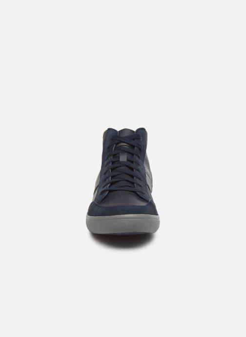 Baskets Geox U BOX E U84R3E Bleu vue portées chaussures