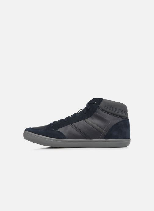 Sneakers Geox U BOX E U84R3E Azzurro immagine frontale