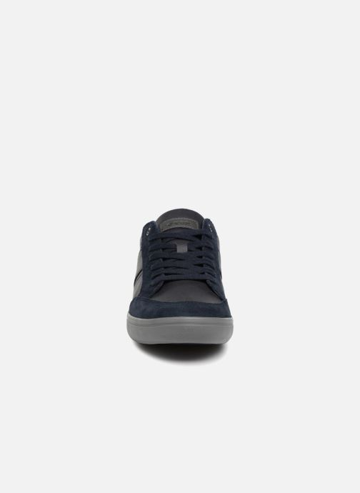 Baskets Geox U BOX F U84R3F Bleu vue portées chaussures