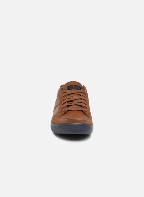 Sneaker Geox U BOX F U84R3F braun schuhe getragen
