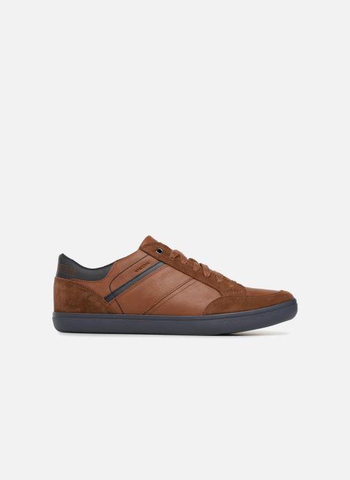 Sneaker Geox U BOX F U84R3F braun ansicht von hinten