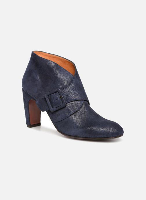 Bottines et boots Chie Mihara Elba Bleu vue détail/paire