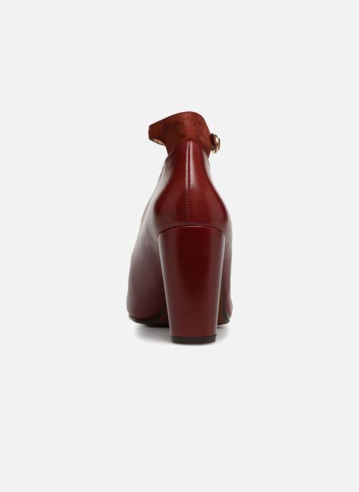 Escarpins Chie Mihara Easy Bordeaux vue droite