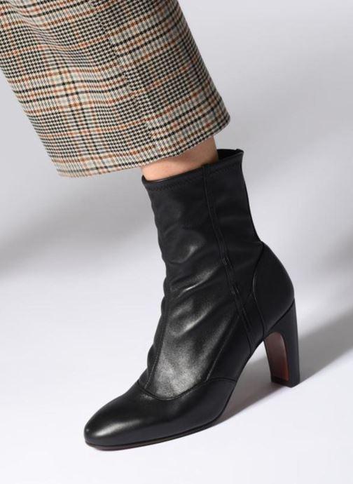 Bottines et boots Chie Mihara Eina Noir vue bas / vue portée sac