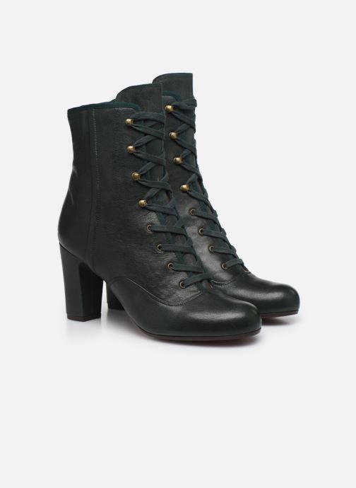Bottines et boots Chie Mihara Kioto Vert vue 3/4
