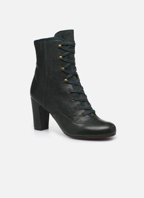 Bottines et boots Chie Mihara Kioto Vert vue détail/paire