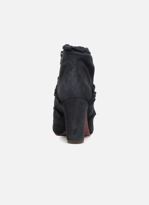 Bottines et boots Chie Mihara Kaftan Bleu vue droite