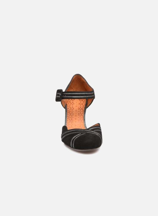 Escarpins Chie Mihara Kilo Noir vue portées chaussures
