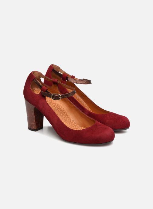 High heels Chie Mihara Kerol Burgundy 3/4 view