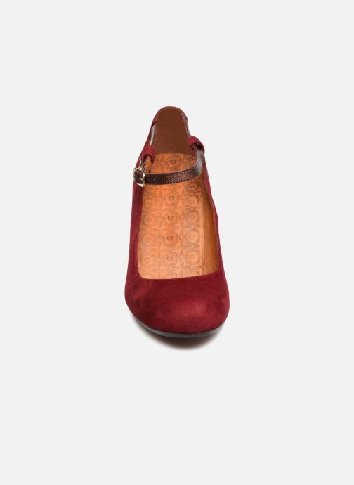 Escarpins Chie Mihara Kerol Bordeaux vue portées chaussures