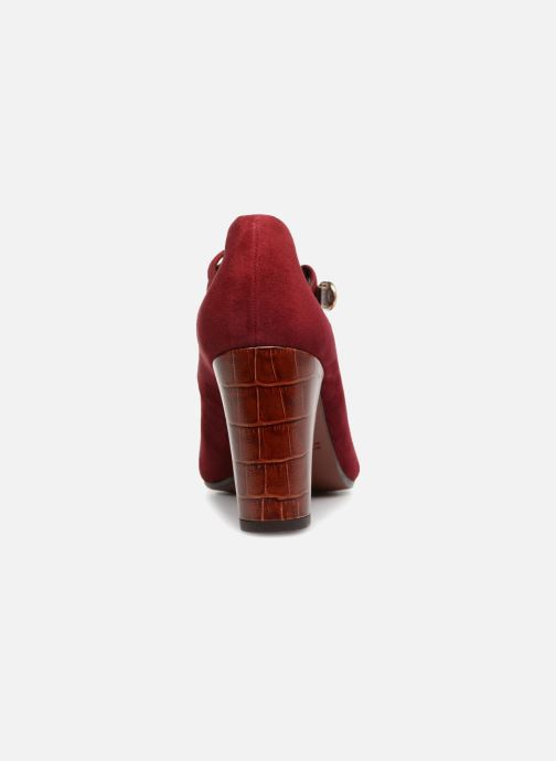 High heels Chie Mihara Kerol Burgundy view from the right
