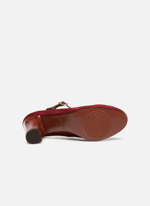 High heels Chie Mihara Kerol Burgundy view from above