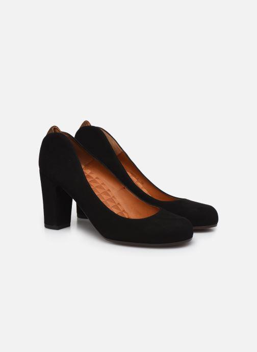 High heels Chie Mihara Key Black 3/4 view