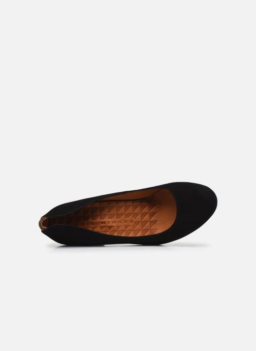 Zapatos de tacón Chie Mihara Key Negro vista lateral izquierda