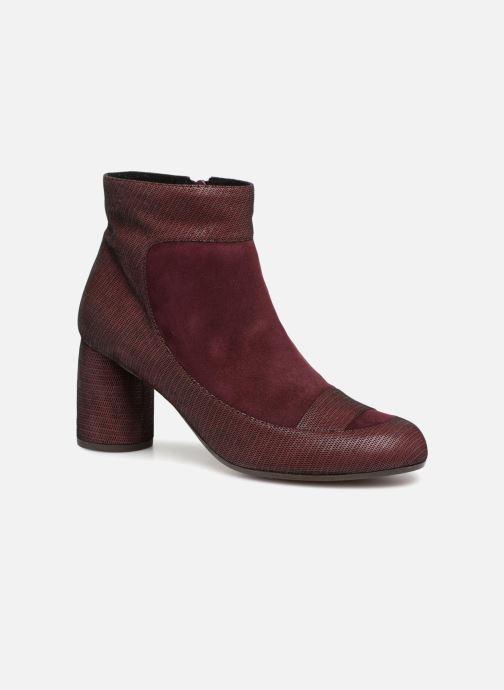 Bottines et boots Chie Mihara Mussol Bordeaux vue détail/paire