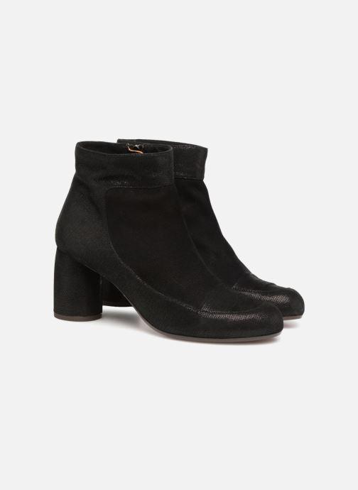 Bottines et boots Chie Mihara Mussol Noir vue 3/4