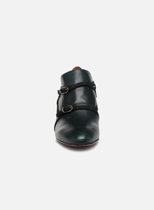 Bottines et boots Chie Mihara Navy Vert vue portées chaussures