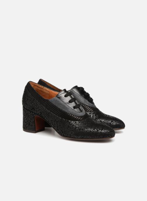 Chaussures à lacets Chie Mihara Neru Noir vue 3/4