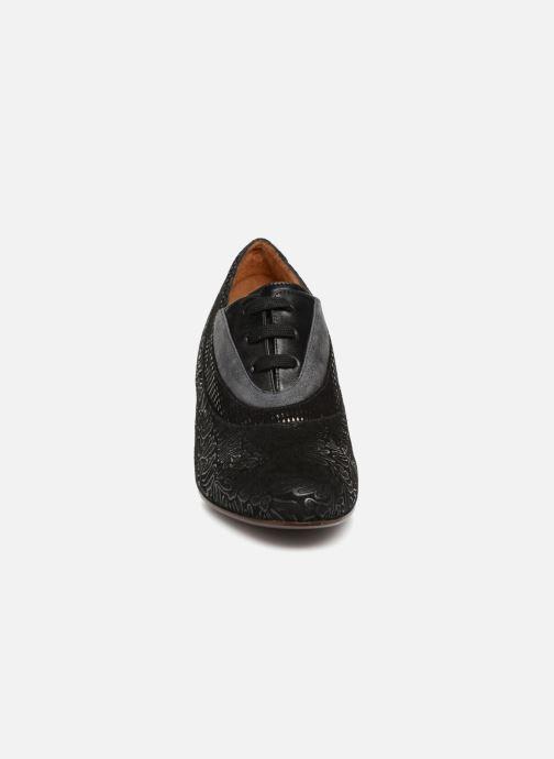 Schnürschuhe Chie Mihara Neru schwarz schuhe getragen