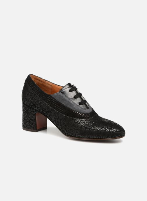 Chaussures à lacets Chie Mihara Neru Noir vue détail/paire