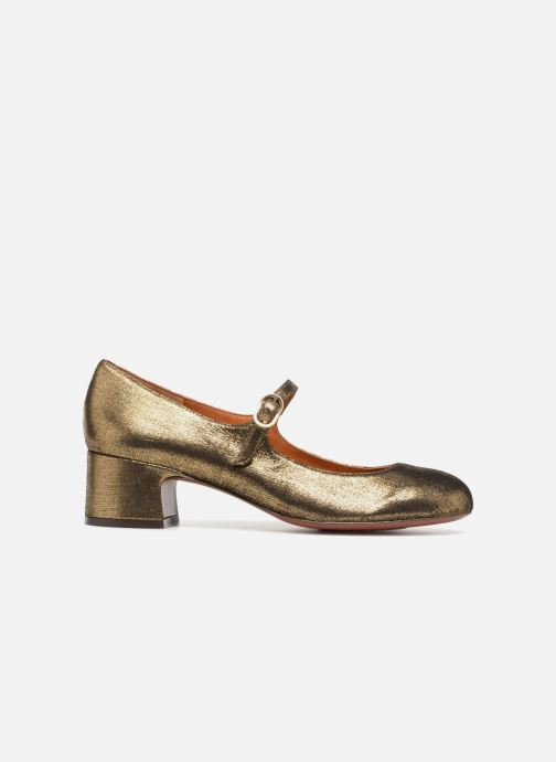 High heels Chie Mihara U Nead 33 Bronze and Gold back view